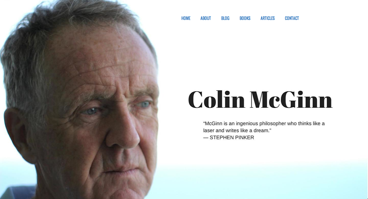 Colin-McGinn-Home-Page COLIN MCGINN WEBSITE