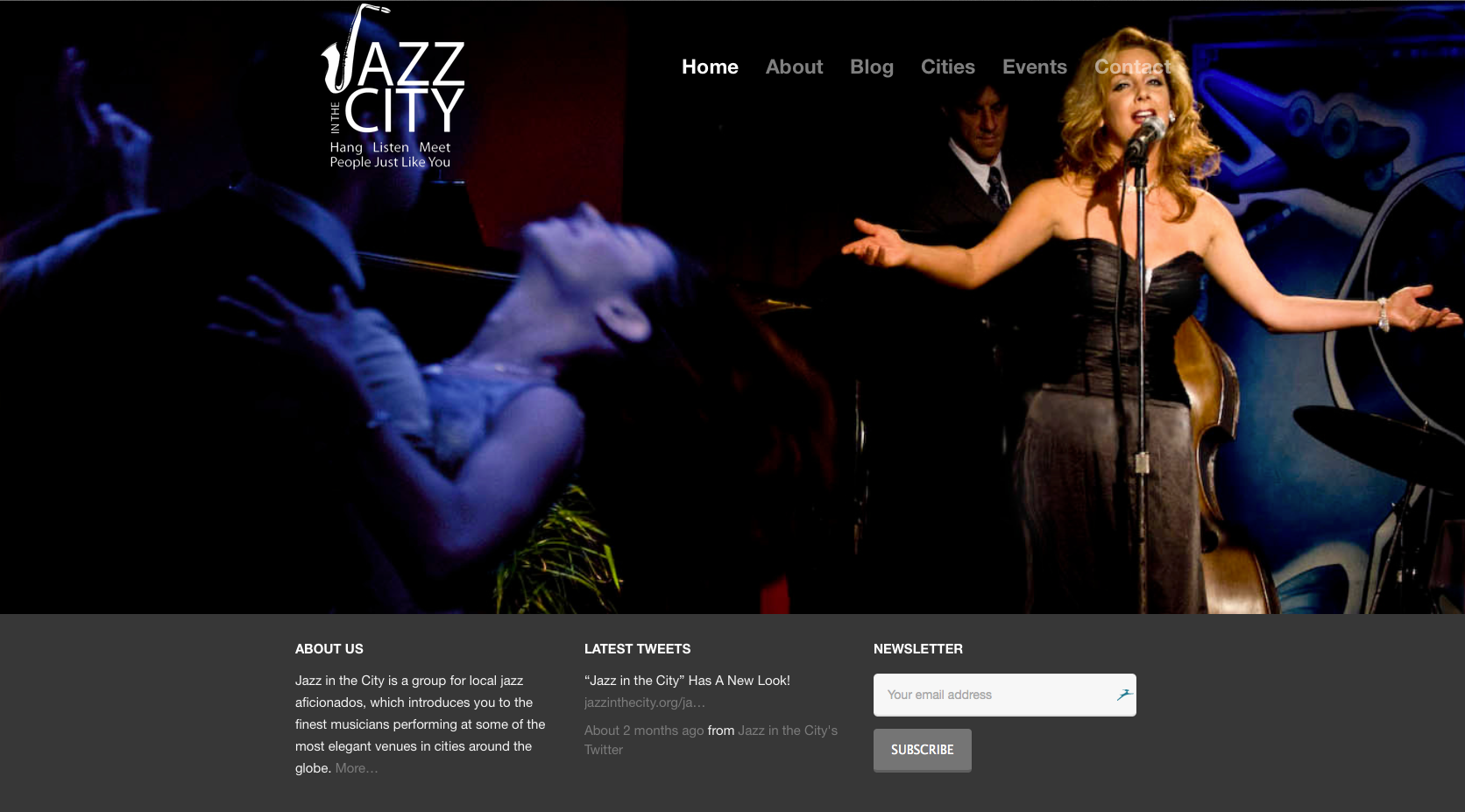 Jazz-in-the-City 'JAZZ IN THE CITY' WEBSITE